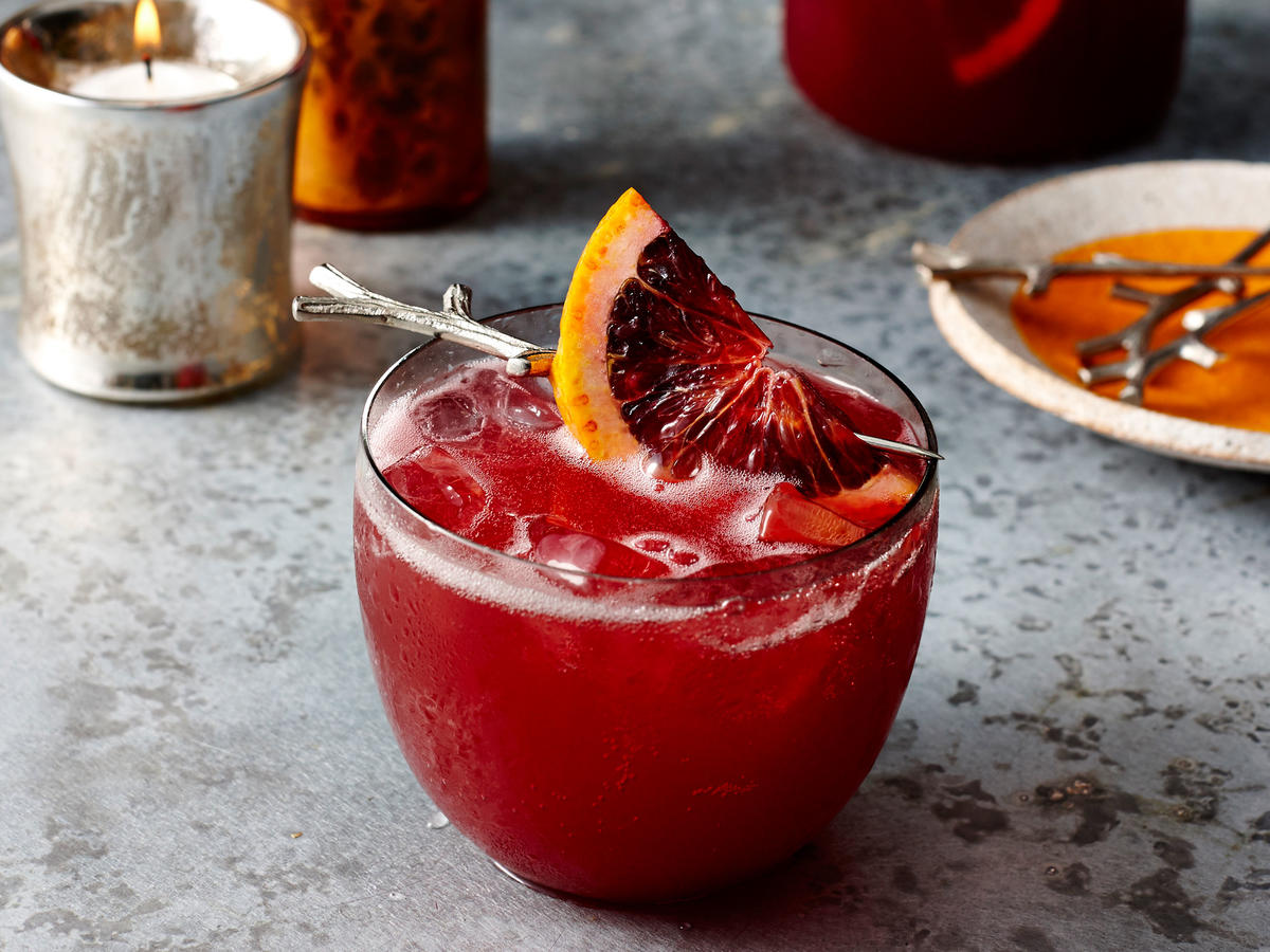 Hibiscus and Blood Orange Punch