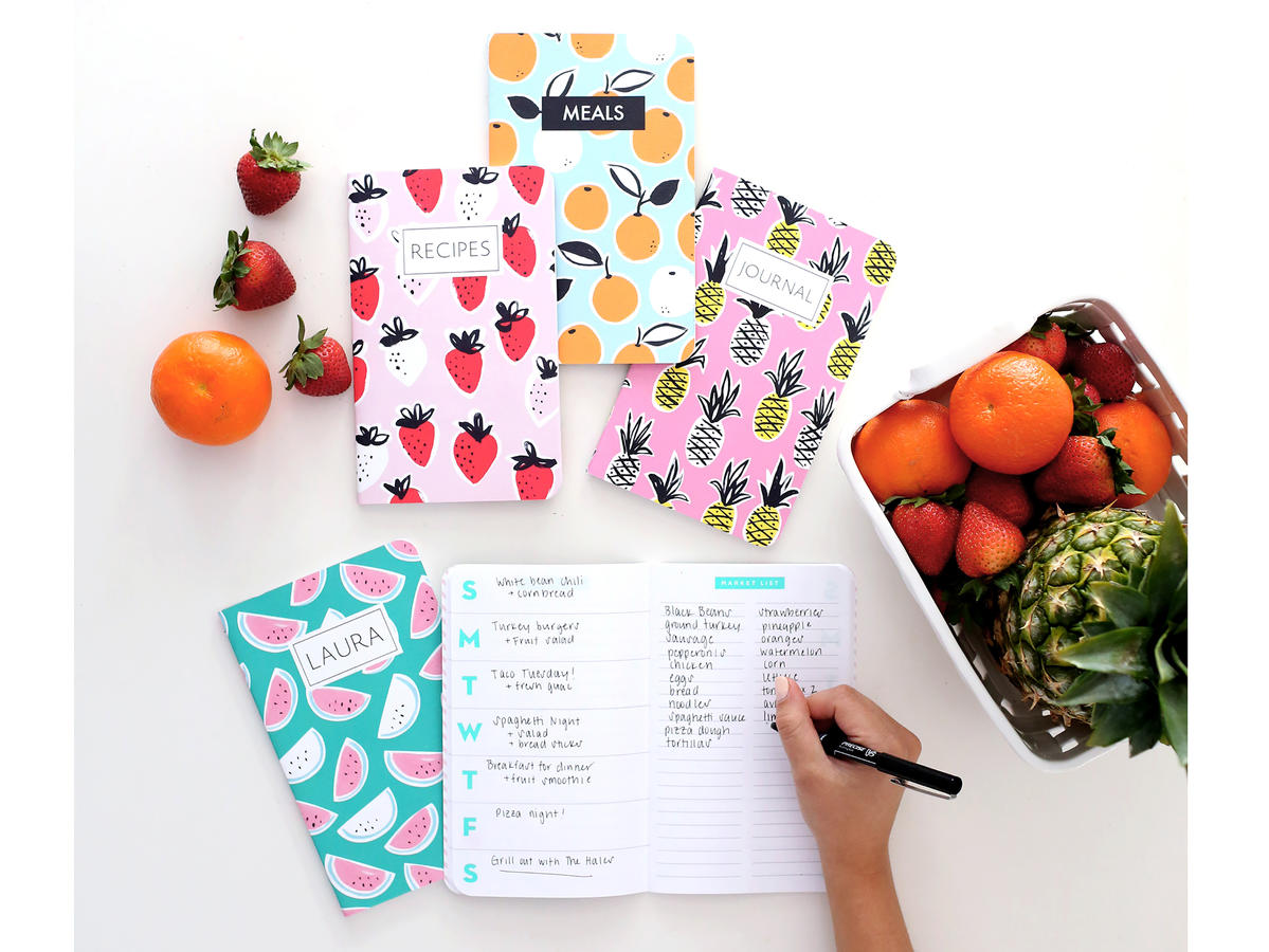 May Designs Meal Planner Notebook
