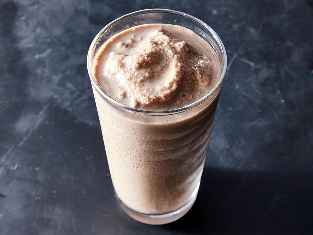 Mocha Flax Smoothie Recipe Cooking Light