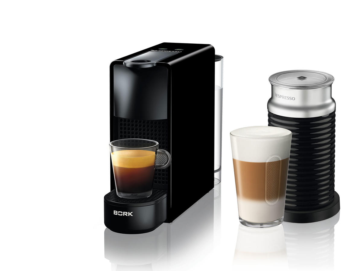 Nespresso Essenza Mini Piano Black Bundle