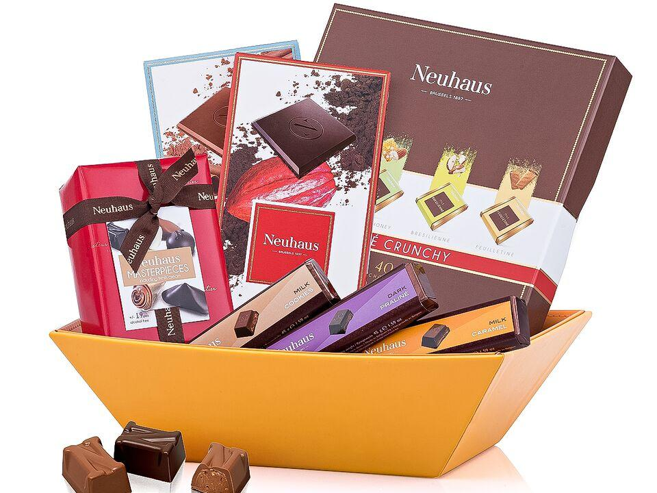 Neuhaus Milk & Dark Chocolate Sampler