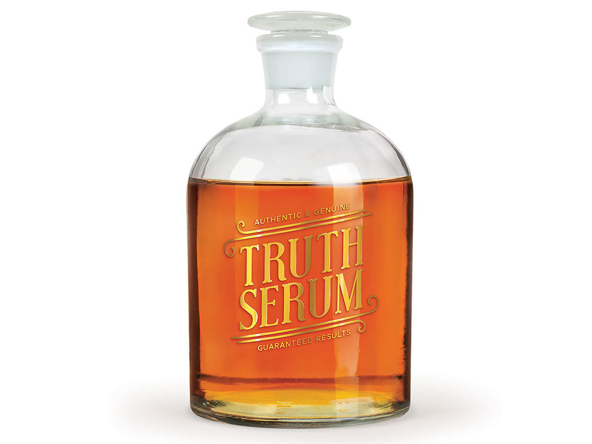 Perpetual Kid Truth Serum Decanter