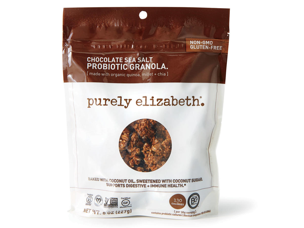 Purely Elizabeth Chocolate Sea Salt Probiotic Granola