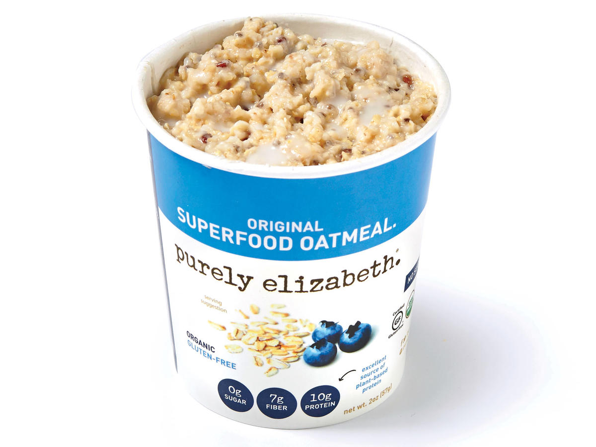 Purely Elizabeth Oatmeal + Unsweetened Nut Milk