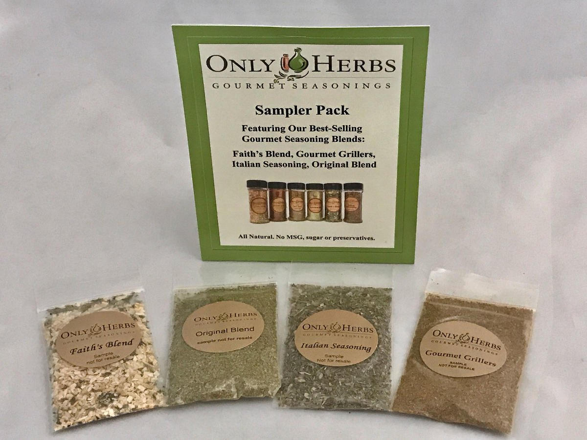 Sampler pack- 4 seasoning blends