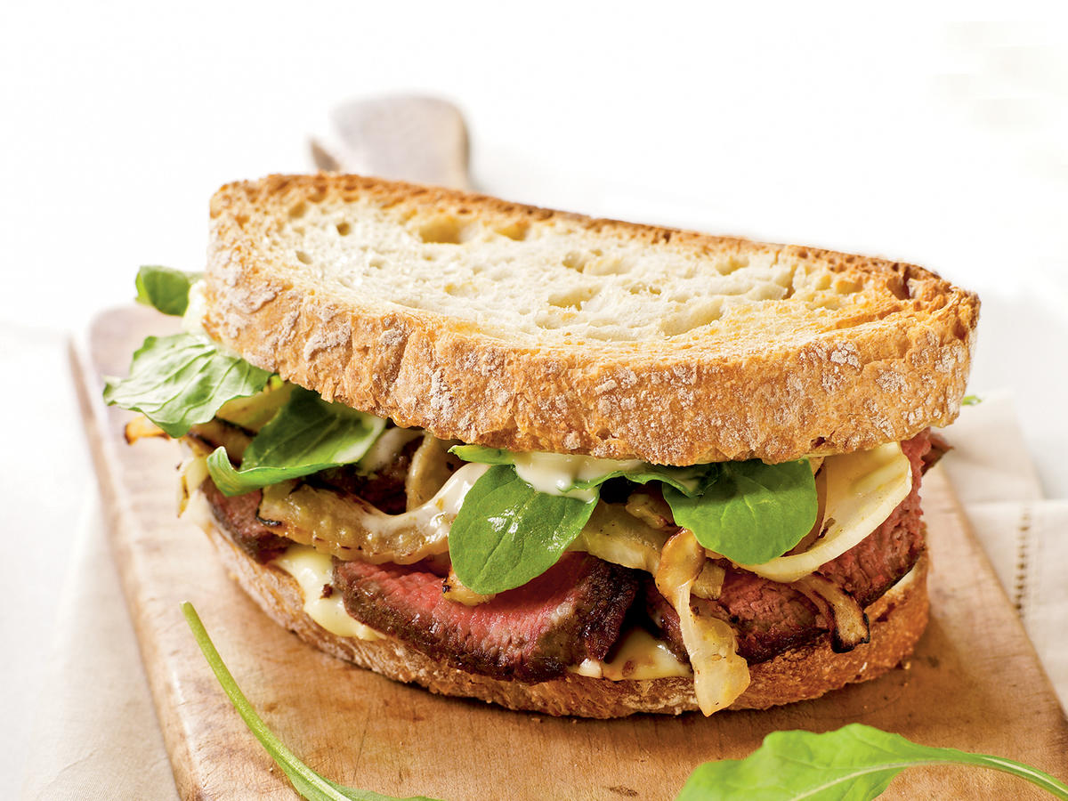 Steak and Fennel Sandwiches