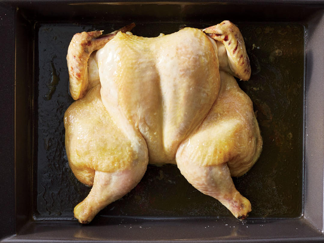 Roast Chicken Low & Slow