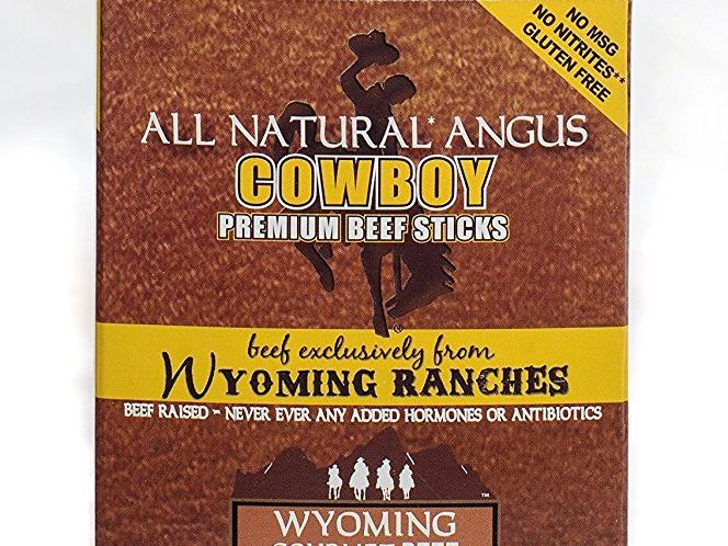 Wyoming Gourmet Beef All Natural Angus Cowboy Hickory Sticks