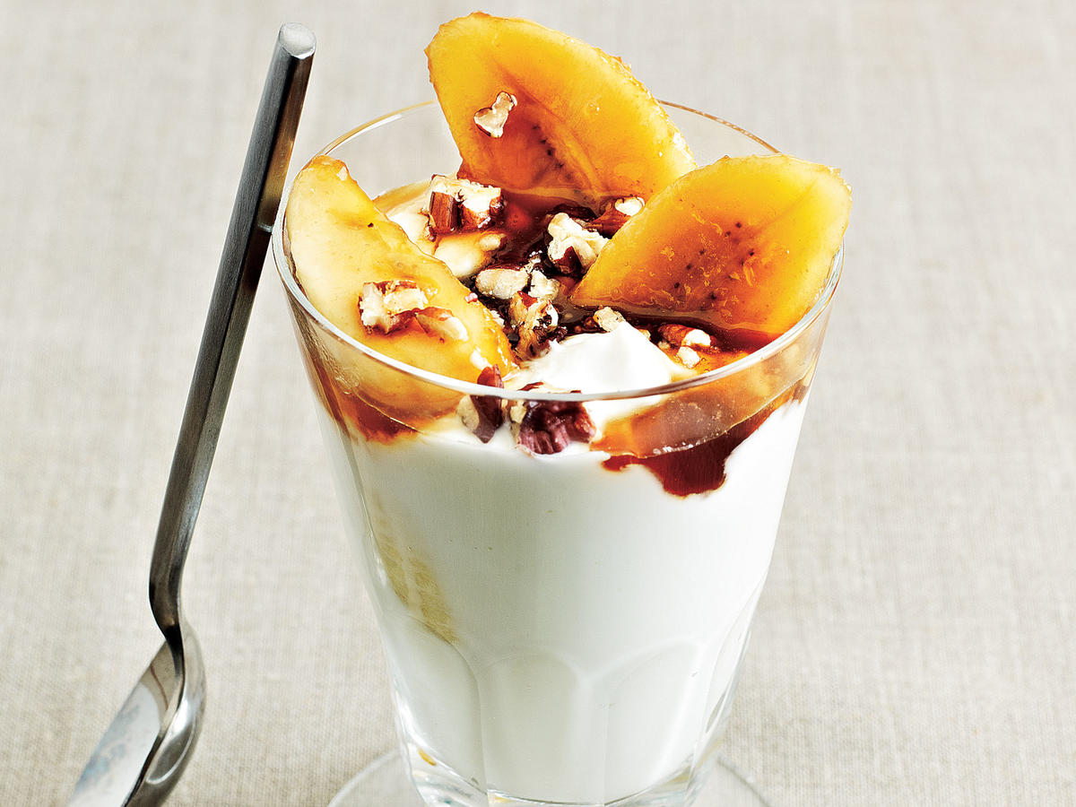 Bananas Foster Parfaits Recipe
