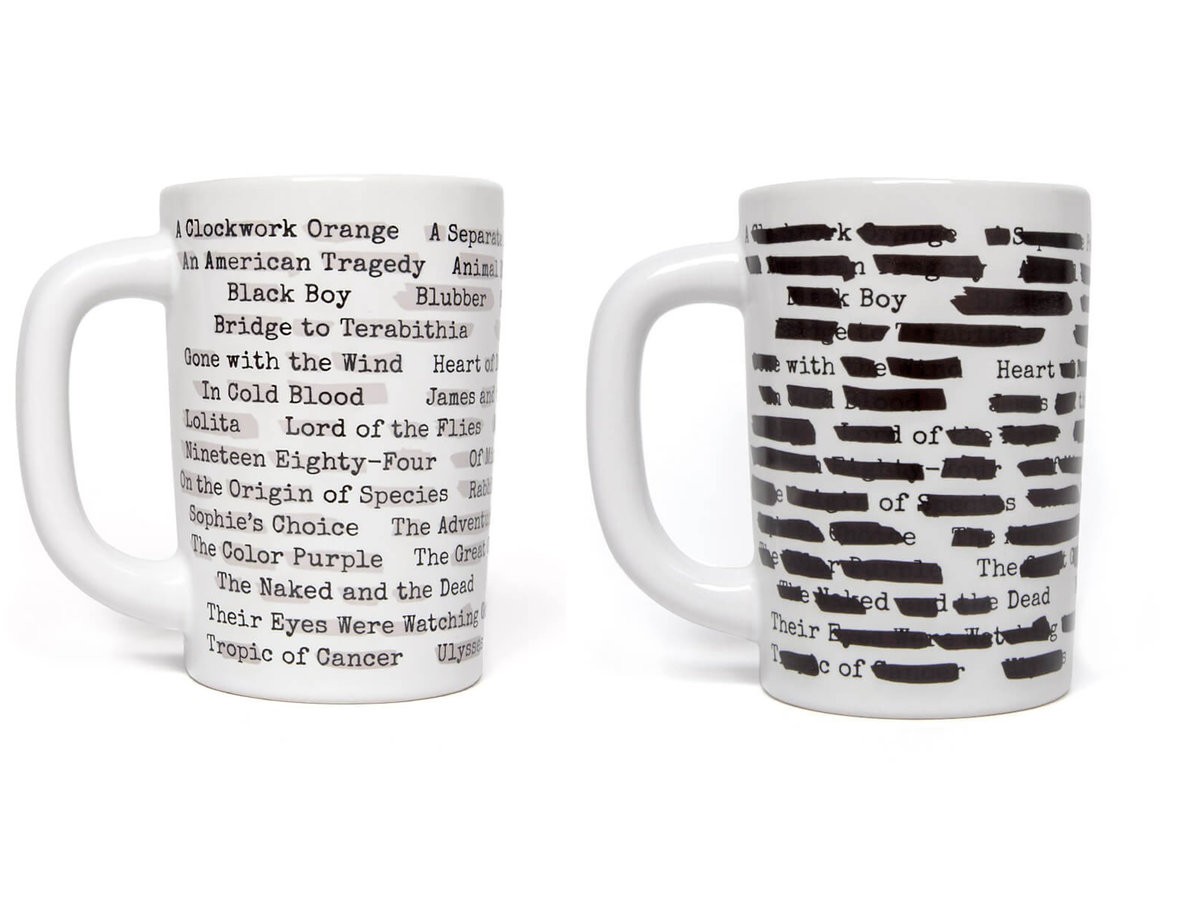 Banned Books Mug Double