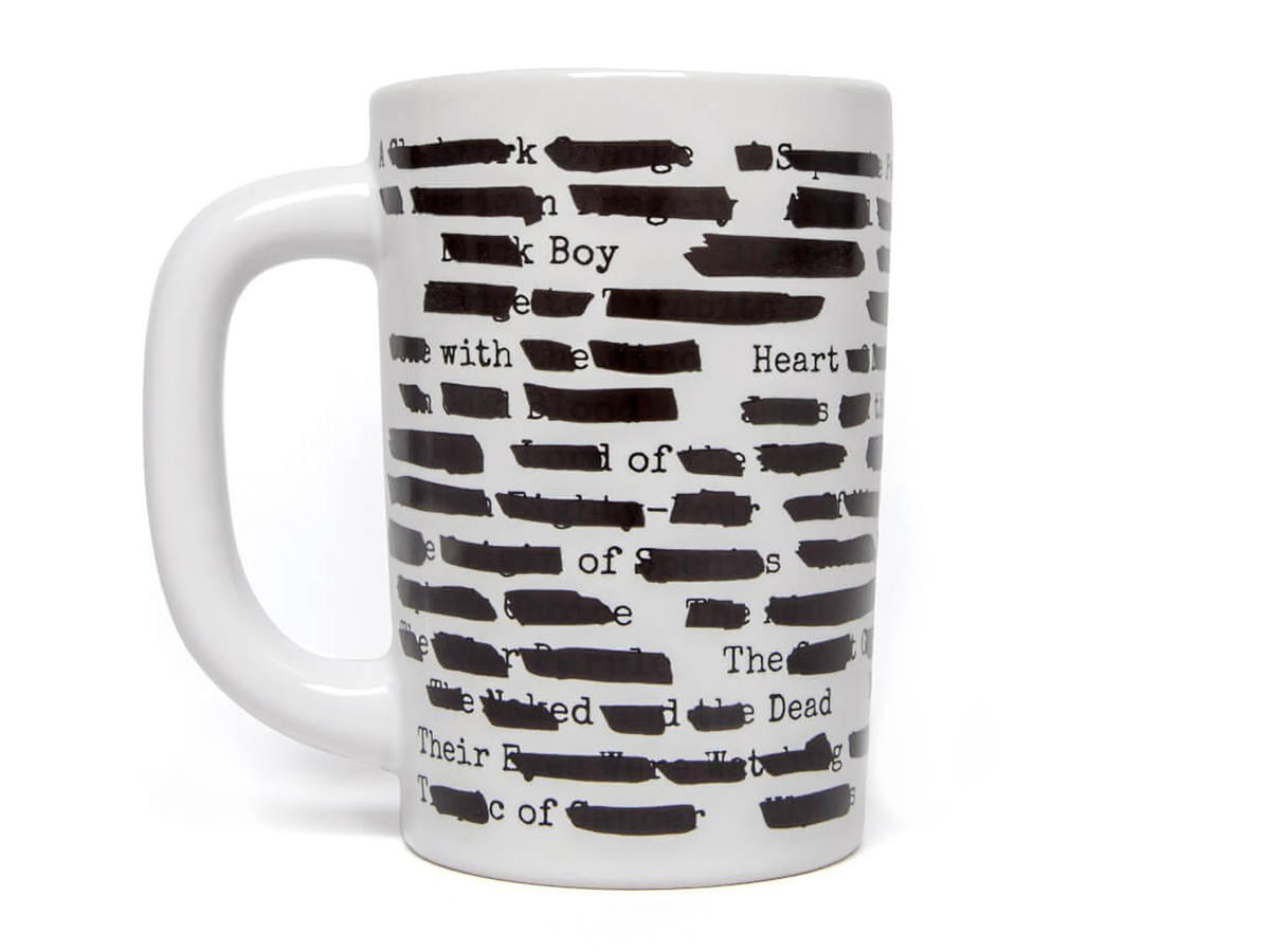 Banned Books Mug Single