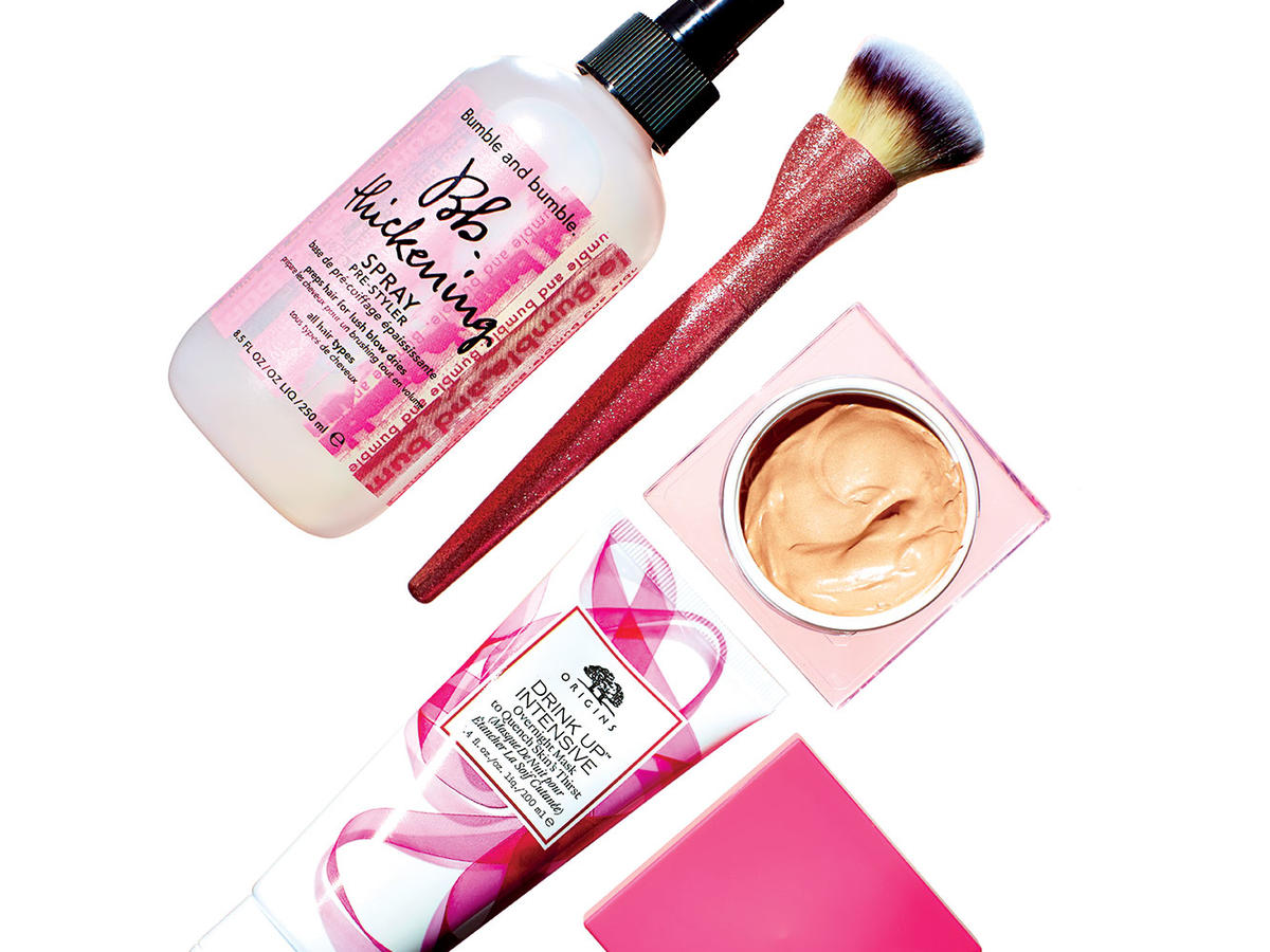 Help Fight Breast Cancer with These Beauty Products