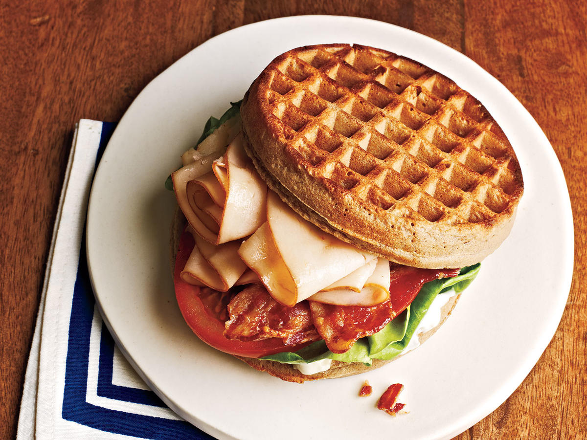 Chicken and Waffle Sandwiches