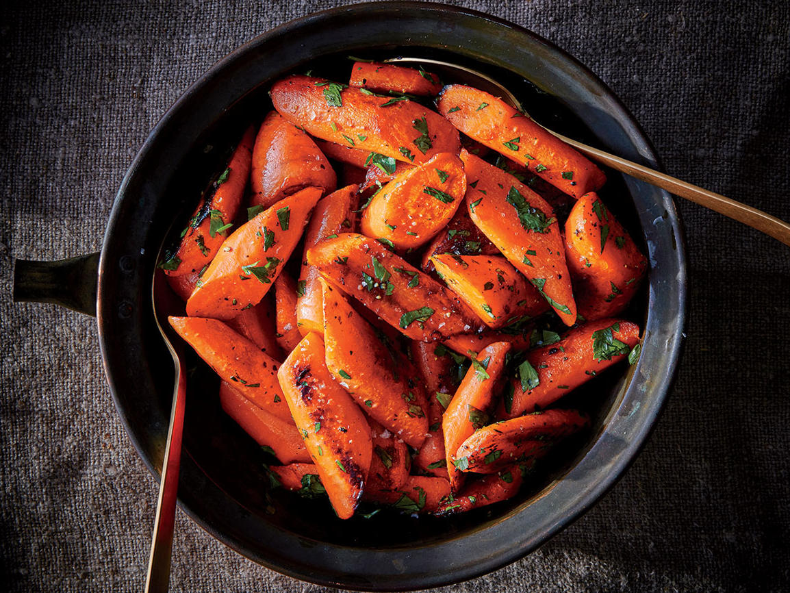 Herb-Roasted Carrots