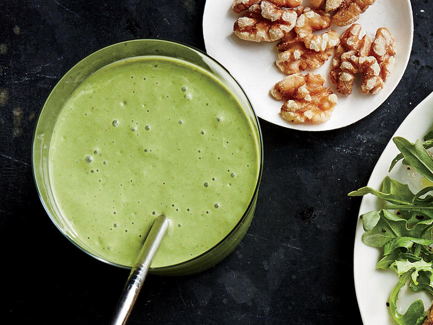 Day 3 Breakfast: Kale-Ginger Smoothie