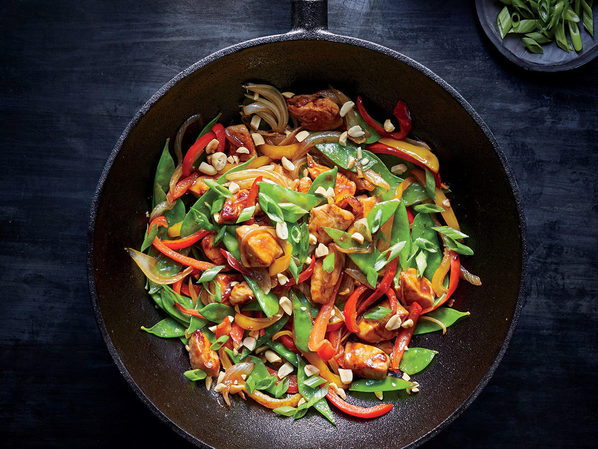 Tuesday: Szechuan Chicken Stir-Fry