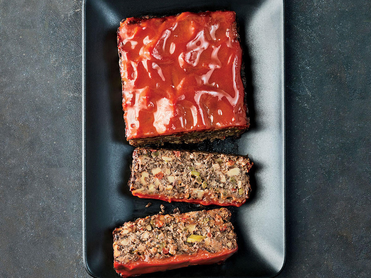 "November: Vegetable ""Meat"" Loaf"