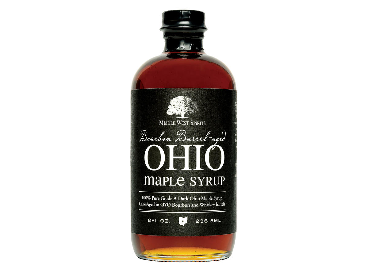 Bourbon Barrel-Aged Ohio Maple Syrup