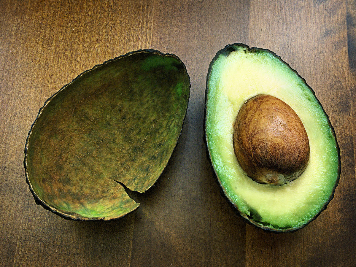 Cut Avocado