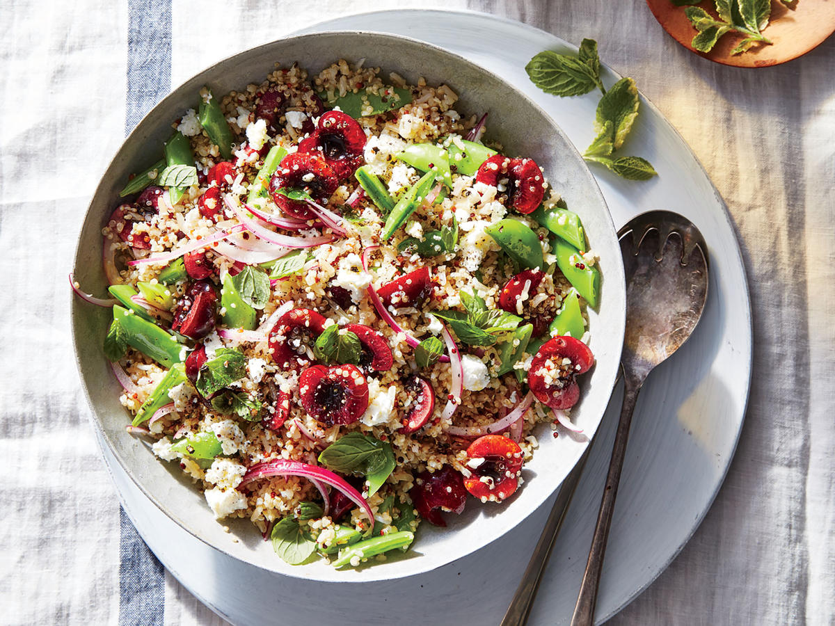 Clean Recipes: Bulgur with Dried Cranberries