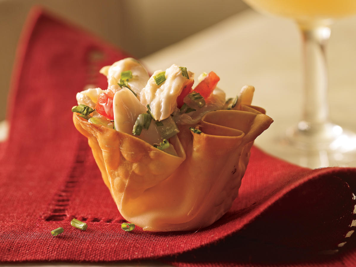 Clean Recipes: Mini Crab Cups