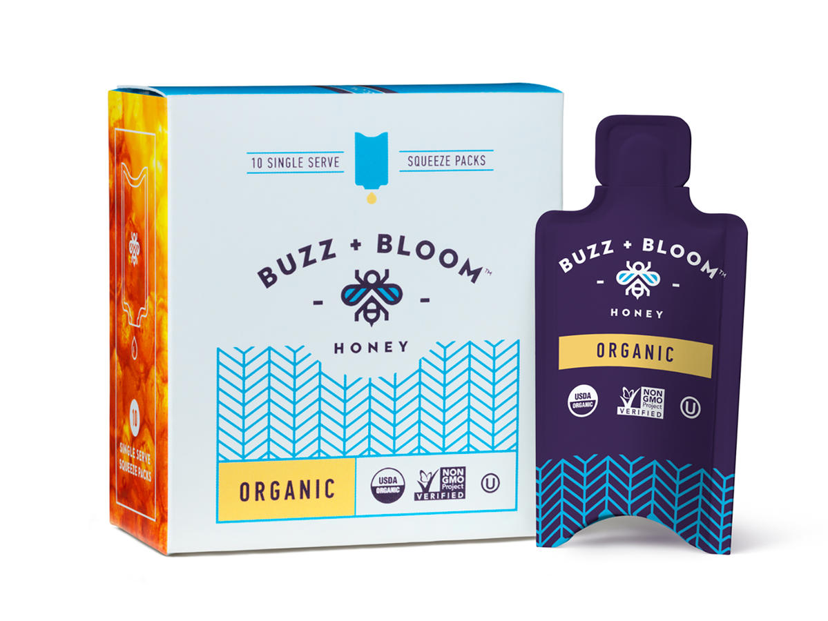 Buzz + Bloom Honey Packets