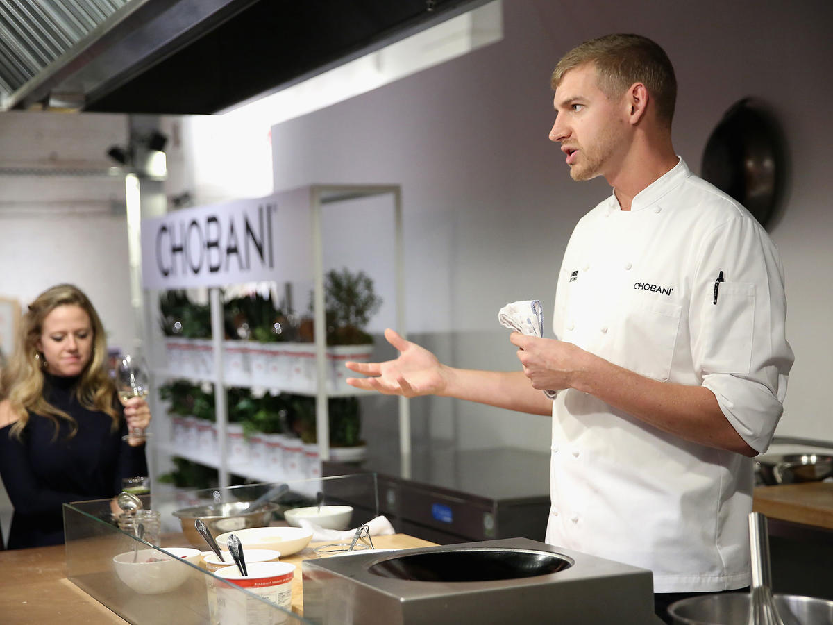 Chobani Corporate Chef Jake Briere