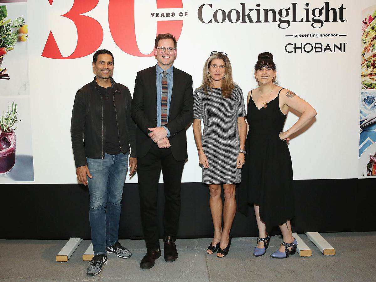 Akhtar Nawab, Hunter Lewis, Nancy Easton and Kat Kinsman