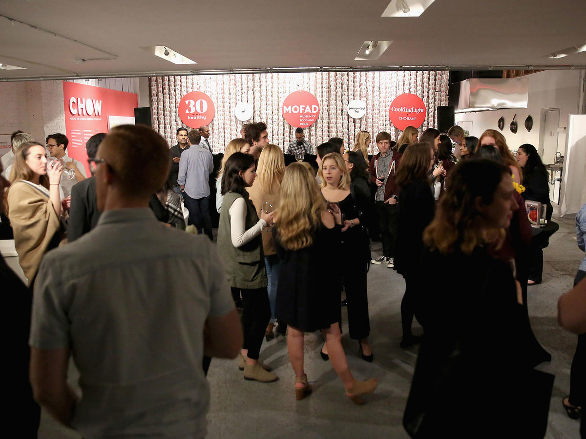 Guests mingle at Cooking Light's 30th Anniversary Celebration.