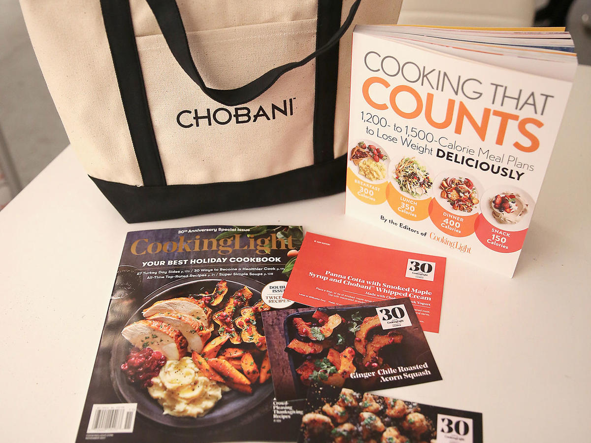 Cooking Light 30th Anniversary Celebration Gift Bag