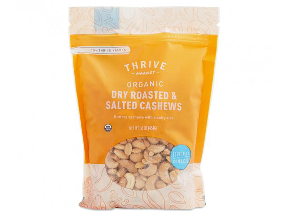 Thrive Market Dry Roasted and Salted Cashews
