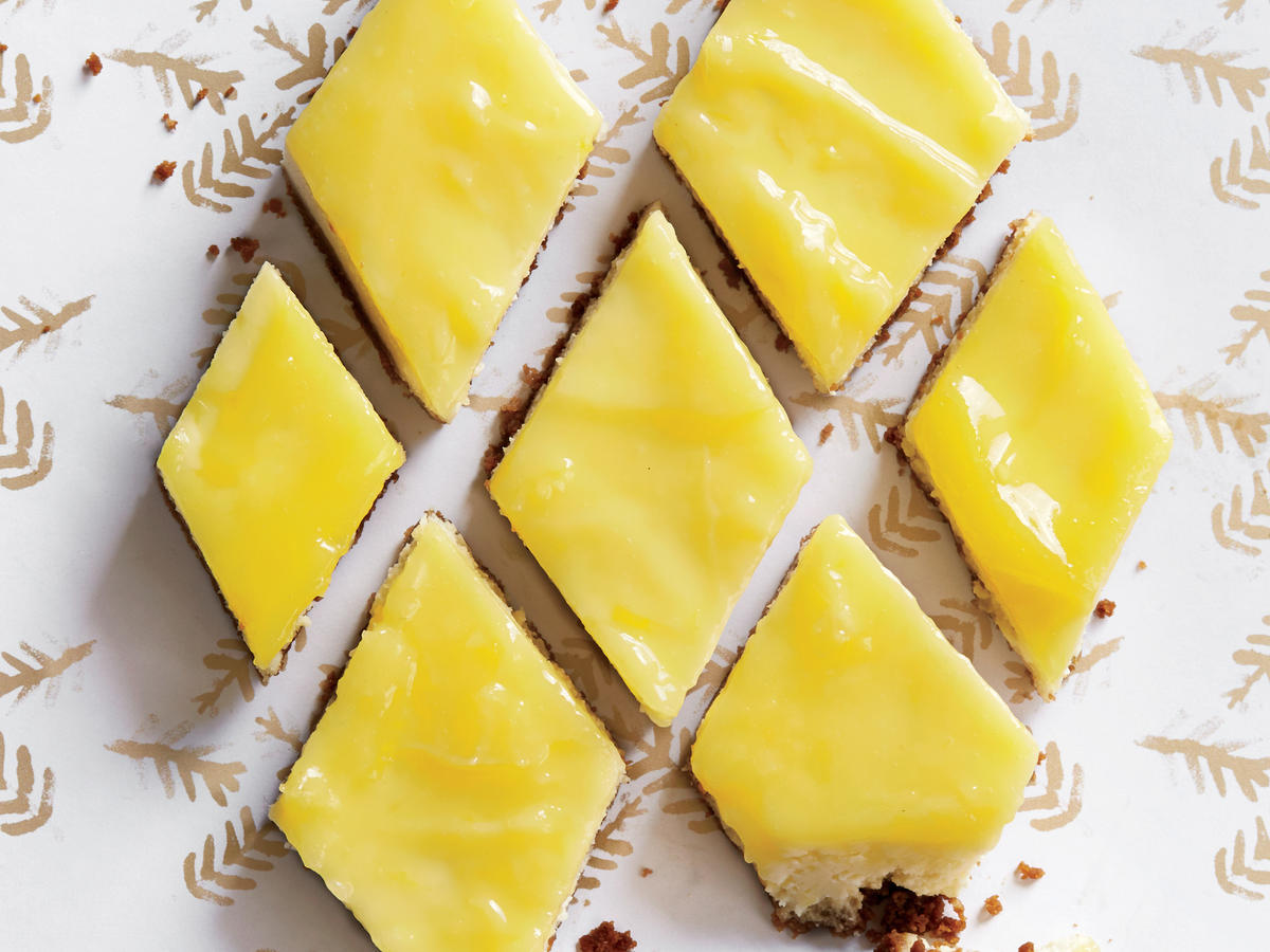Lemon recipes cooking light lemon cheesecake bars with gingersnap crust audiocablefo