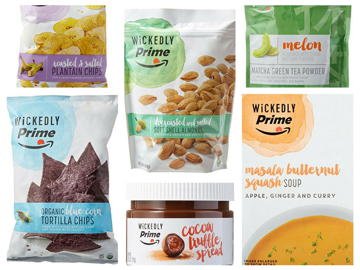 Amazon Wickedly Prime Snacks