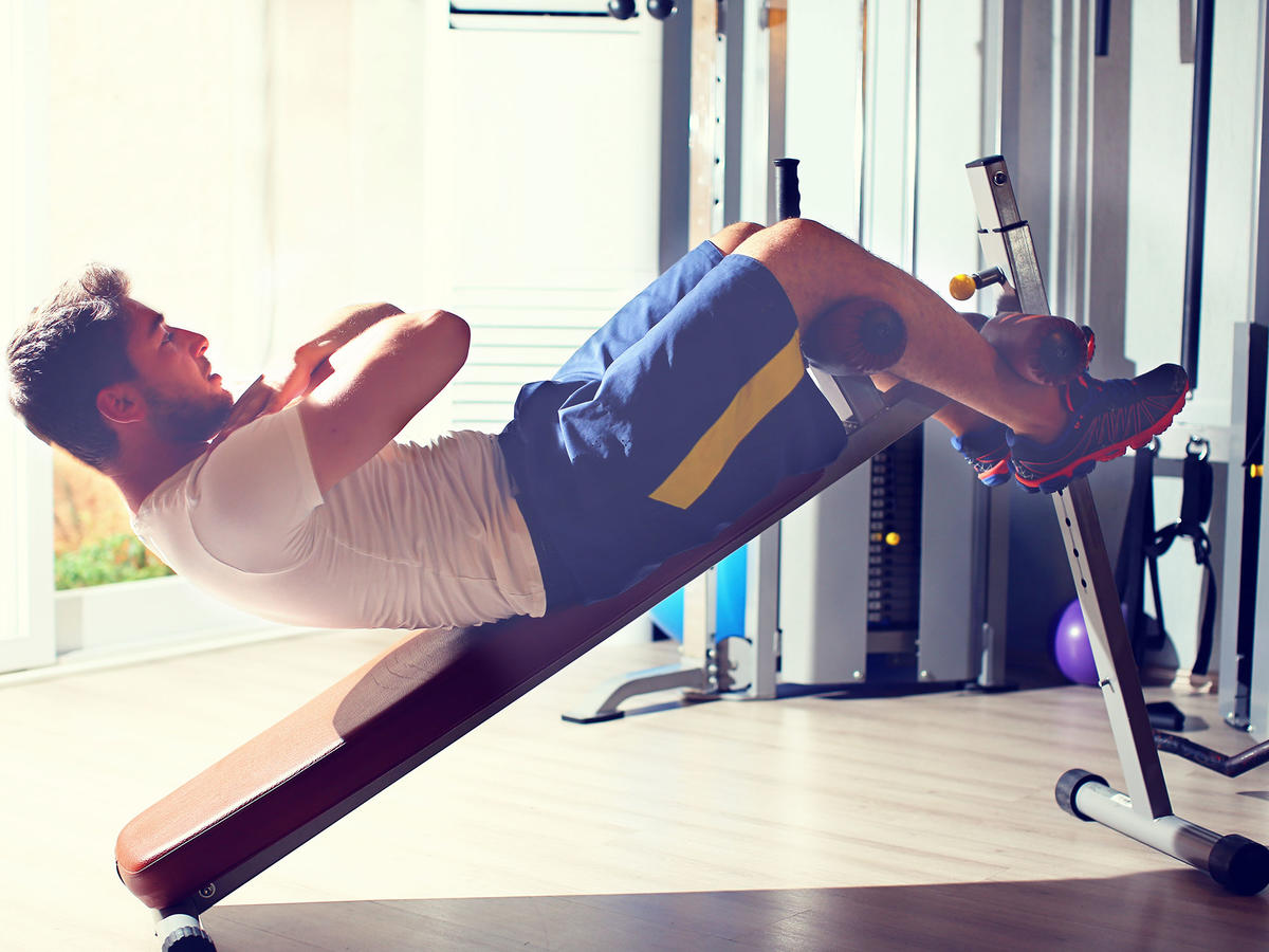 Myth: Crunches are the key to flat abs.
