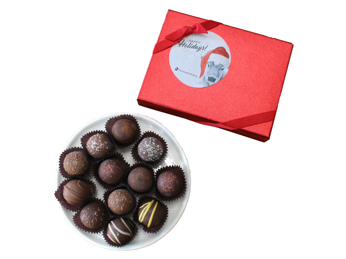 Farm Sanctuary Vegan Holiday Truffles