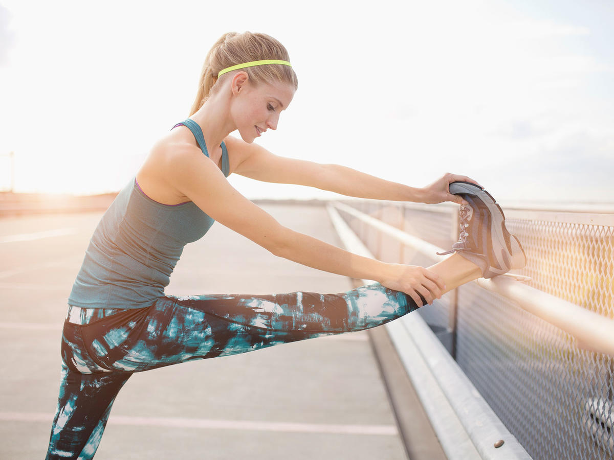 Myth: Stretching helps your body recover faster.