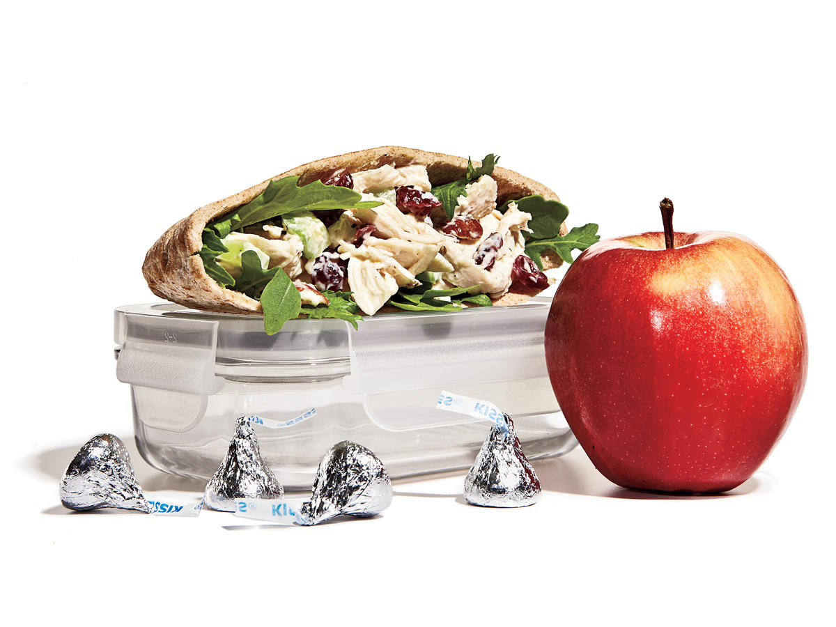 Chicken Salad Pita Lunch Box