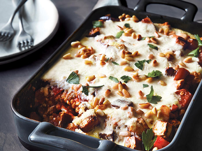 Baked Chicken Moussaka