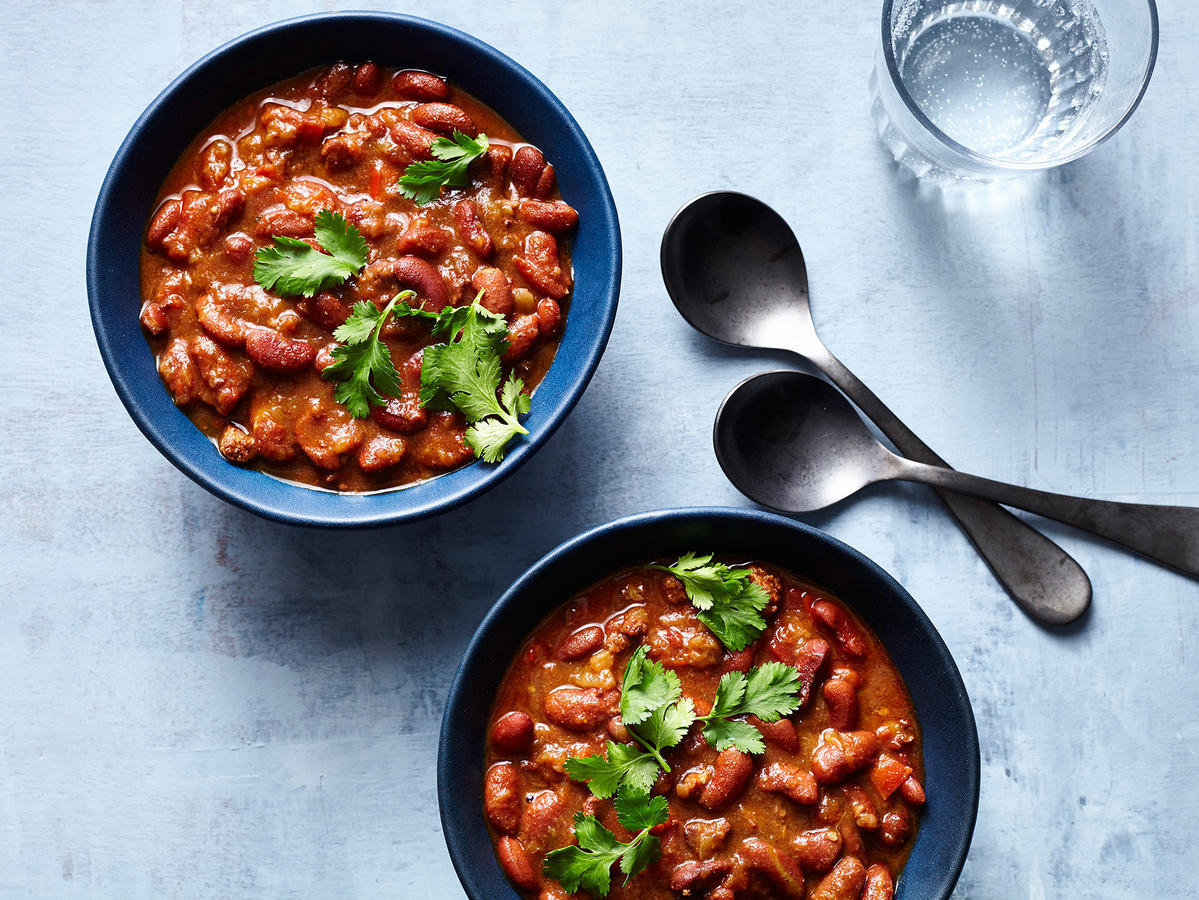 Instant Pot Colombian-Style Red Beans