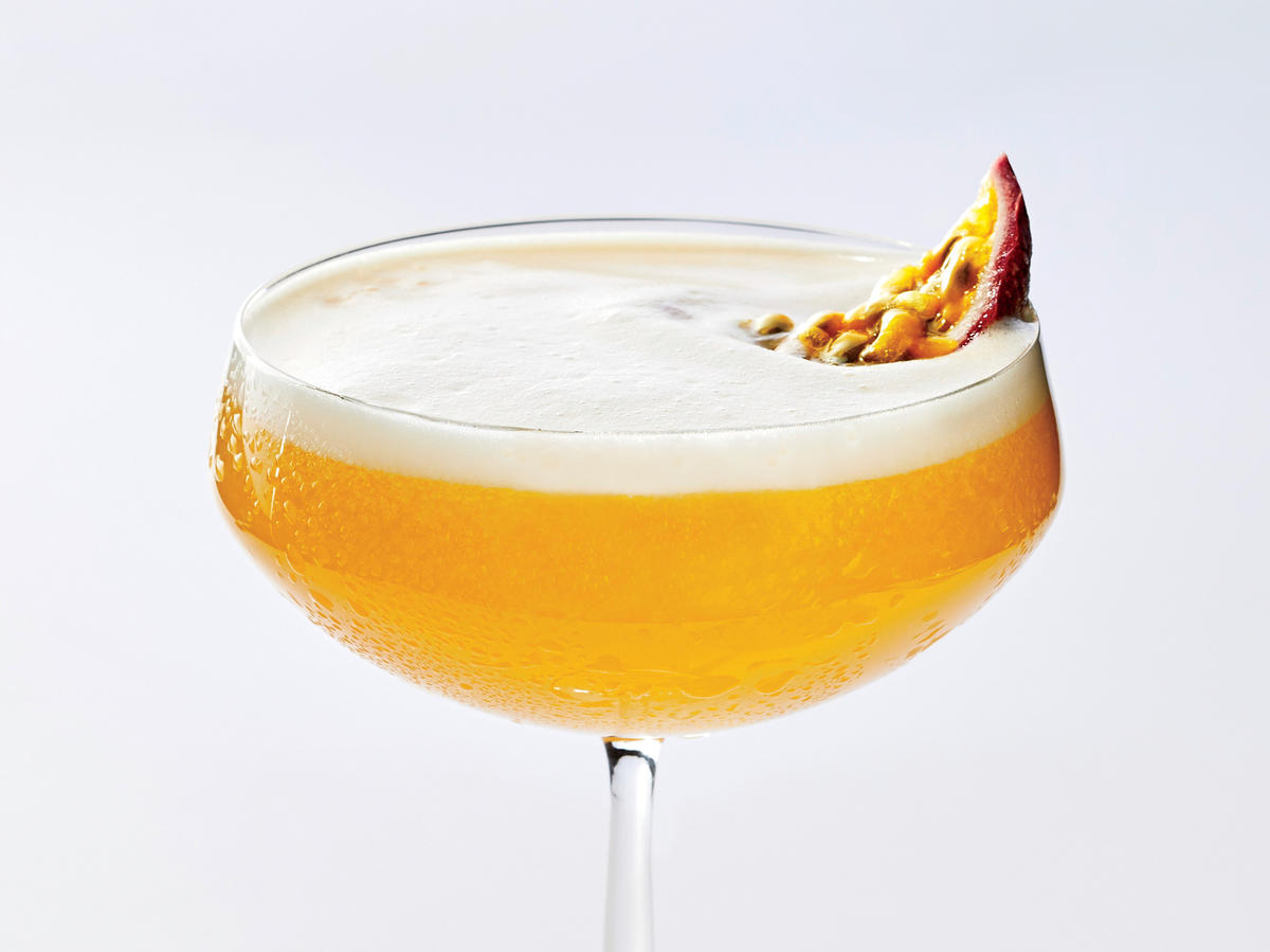 Relax With a Passion Pisco Punch