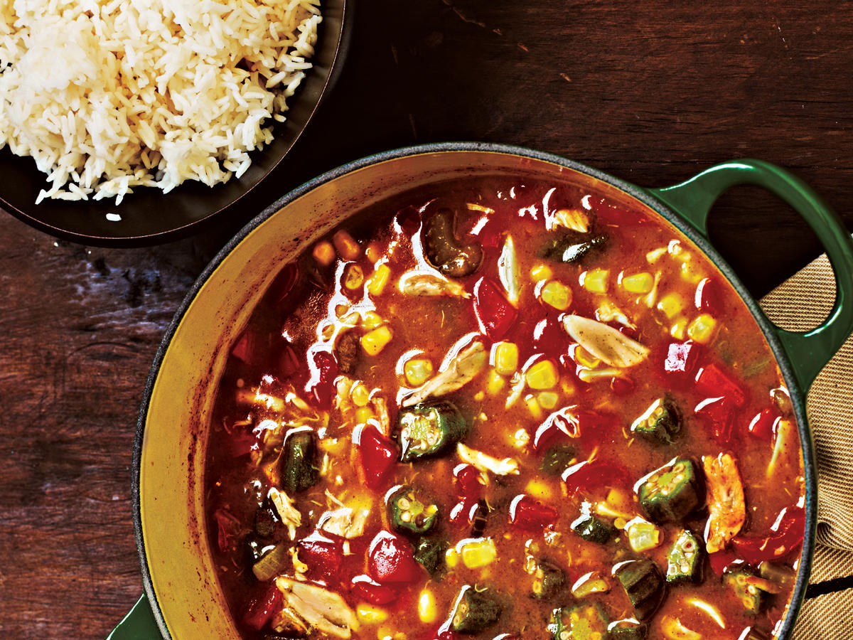 Crab and Vegetable Gumbo