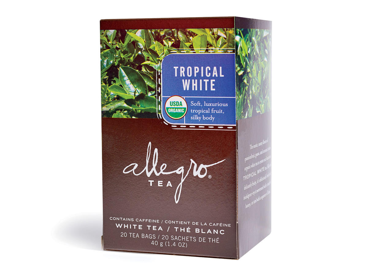 Allegro Organic Tropical White Tea