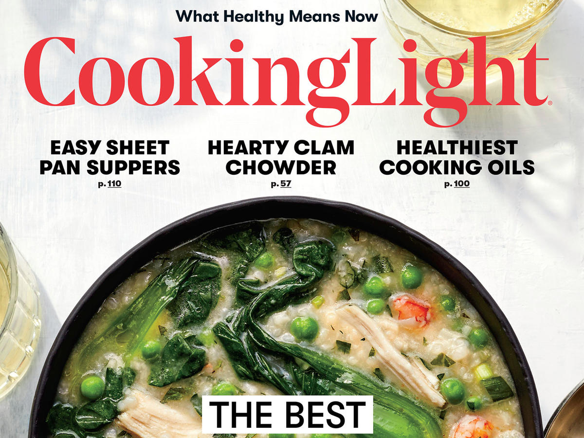 Cooking Light March 2018 cover