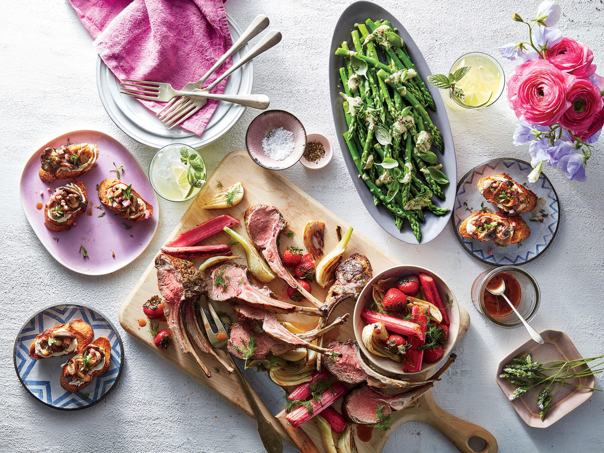 Here's an Entire Easter Menu of Gorgeous Spring Dishes