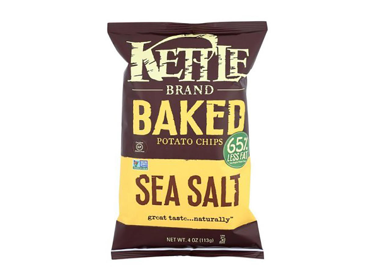 Kettle Brand Baked Potato Chips Sea Salt