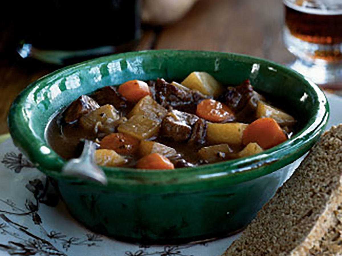 Vegetable-Beef Stew Beer Recipe
