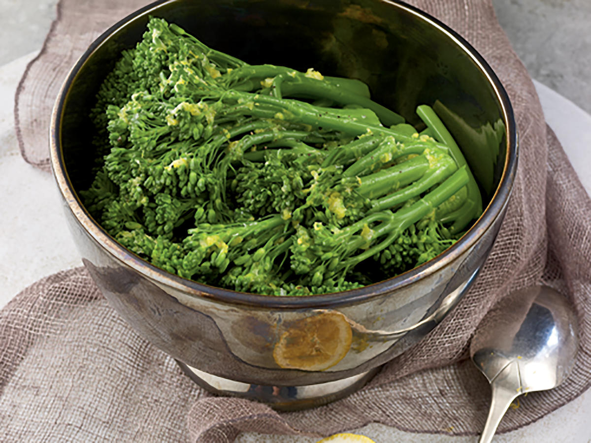 Buttery Lemon Broccolini Recipes