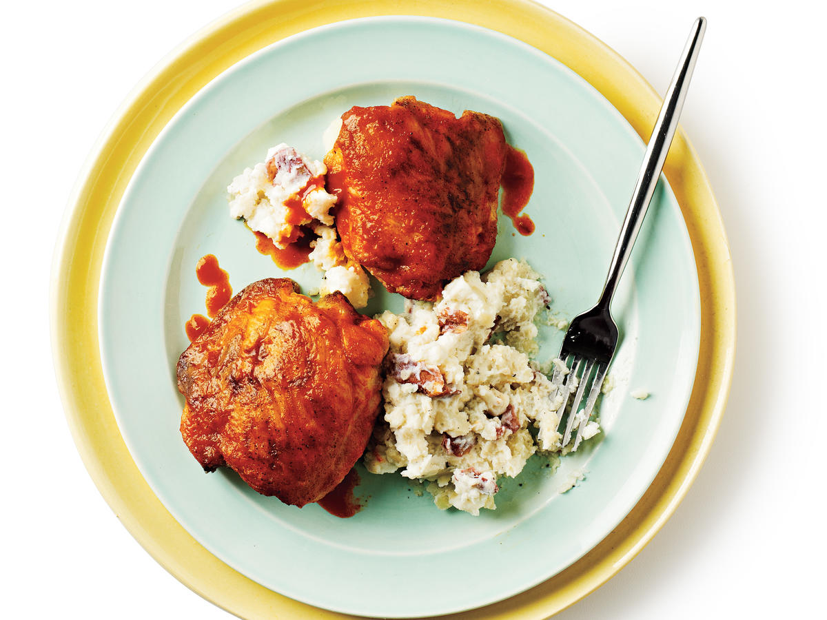 Buffalo Chicken Thighs Recipe