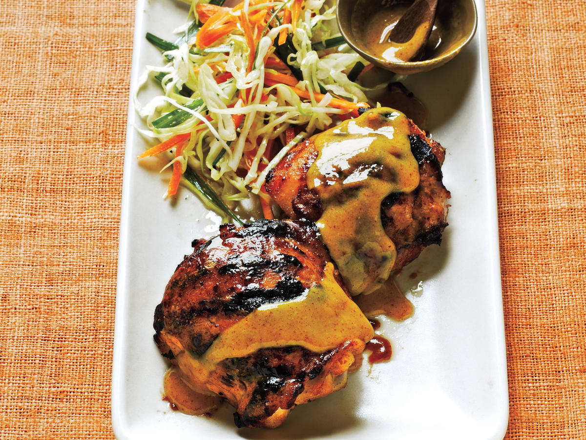 Maple-Mustard Chicken Thighs Recipe