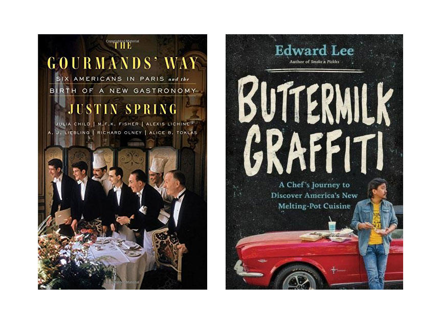 The Gourmands' Way and Buttermilk Graffiti Cookbooks